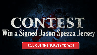 CONTEST: Win a signed Jason Spezza Jersey
